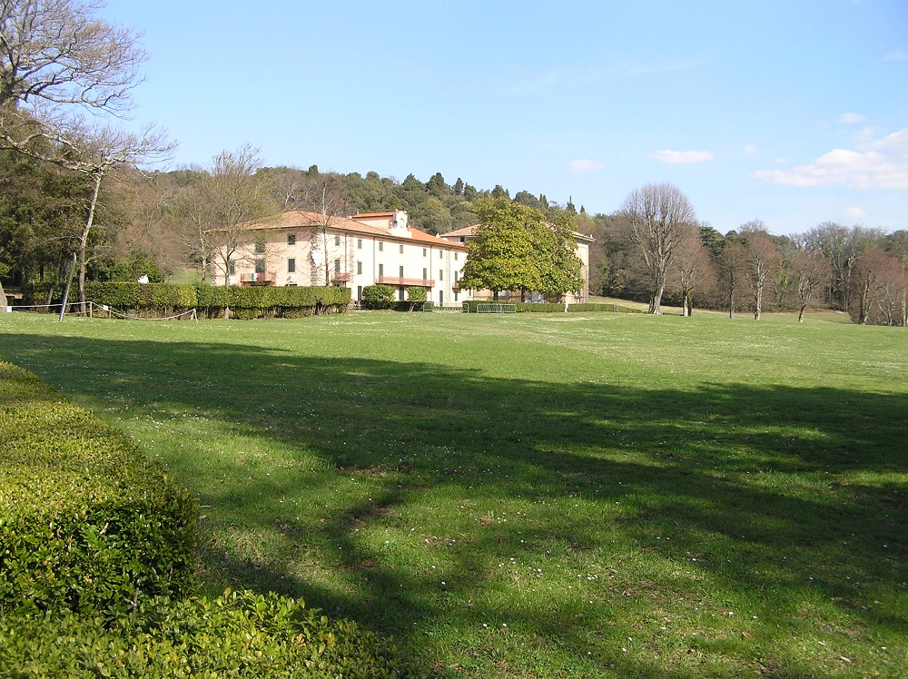 Villa di Pratolino, Vaglia. Author and Copyright Marco Ramerini
