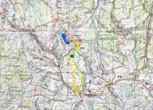 Itinerario di trekking: Lago Santo Modenese – Lago Baccio – Monte Rondinaio