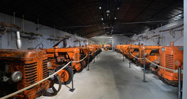 Trattori OM, Museo ai Borghi
