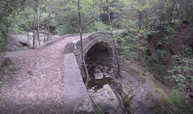 Ponte romano o medievale, Anello di Cintoia, Greve in Chianti. Autore e Copyright Marco Ramerini