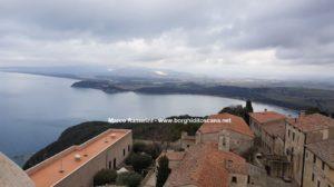 Il panorama dalla Rocca di Populonia. Autore e Copyright Marco Ramerini