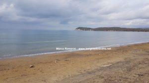 La spiaggia di Baratti. Autore e Copyright Marco Ramerini
