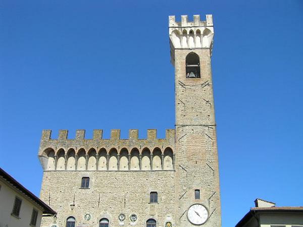 Palazzo dei Vicari, Scarperia. Author and Copyright Marco Ramerini