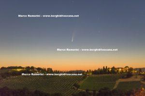 Cometa Neowise. Autore e Copyright Marco Ramerini.,