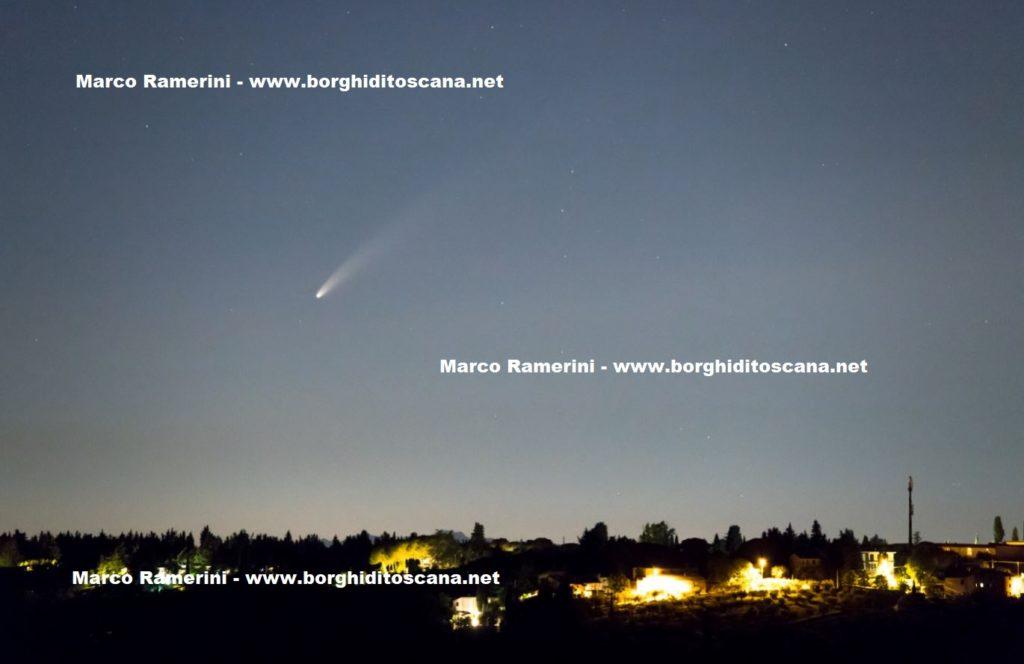 Cometa Neowise. Autore e Copyright Marco Ramerini