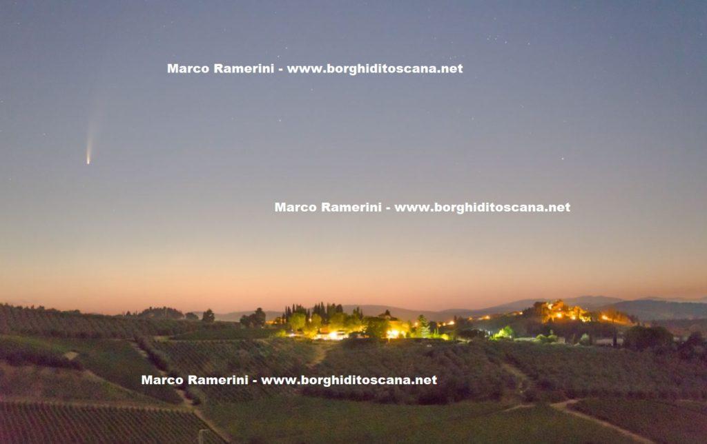 Tignano. Autore e Copyright Marco Ramerini.