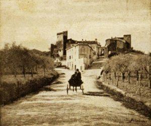 Vecchia fotografia di Barberino Val d'Elsa