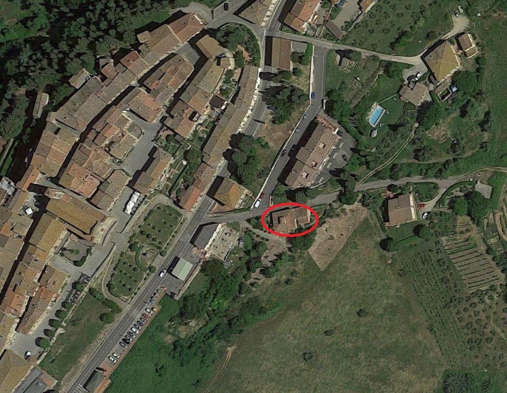 Il podere Santo Stefano. Qui era una delle antiche chiese di Barberino