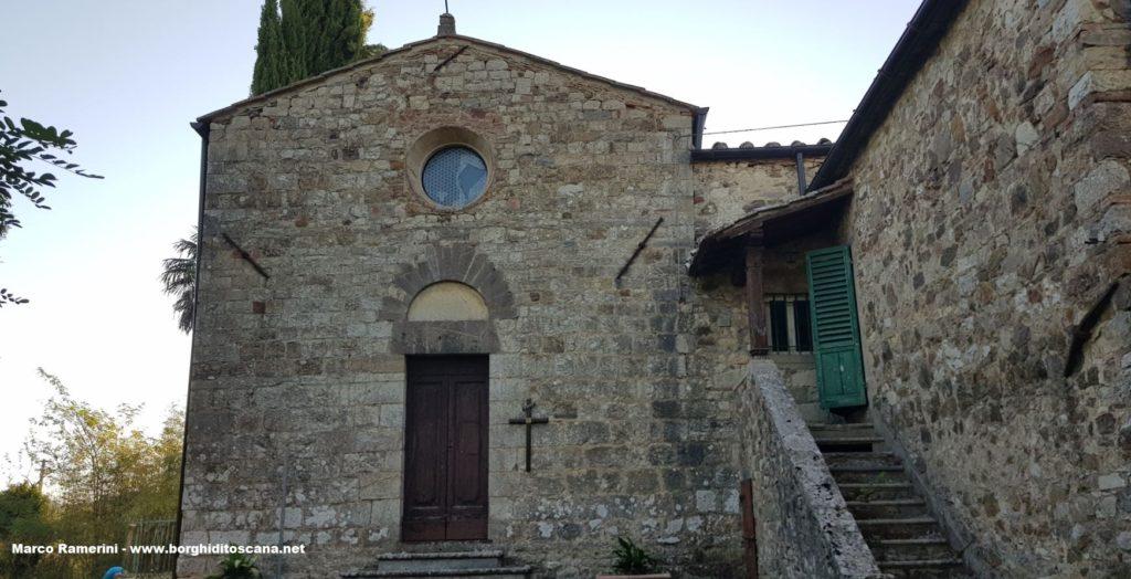 La chiesa di San Giorgio in Piazza. Autore e Copyright Marco Ramerini