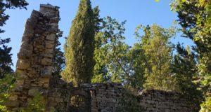 La chiesa di San Silvestro con la finestra rotonda. Autore e Copyright Marco Ramerini