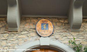 Lo stemma del comune di Barberino Val d'Elsa. Autore e Copyright Marco Ramerini