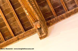 Un'altro capitello sarà anche questo di una della vecchie chiese di Barberino. Autore e Copyright Marco Ramerini.