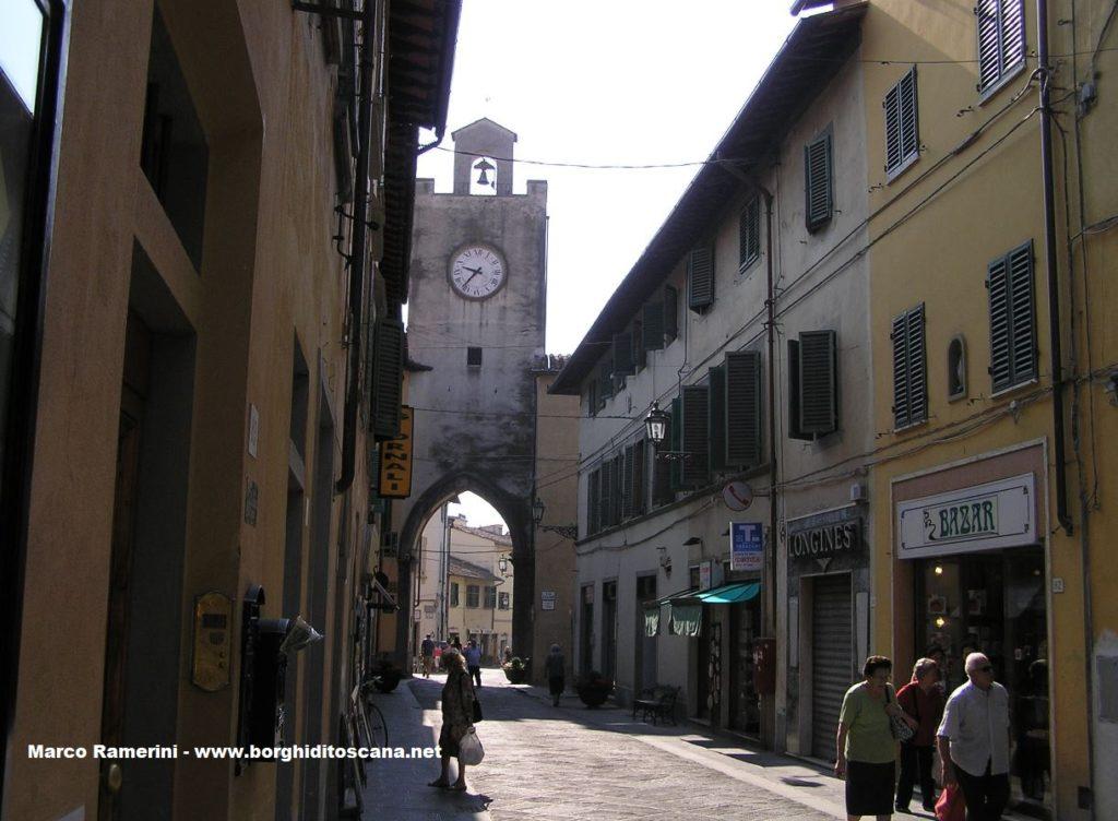 Borgo San Lorenzo. Autore e Copyright Marco Ramerini