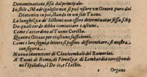 Compendio del trattato de' generi e de' modi della musica Giovanni Battista Doni 1635 pagina XXIX