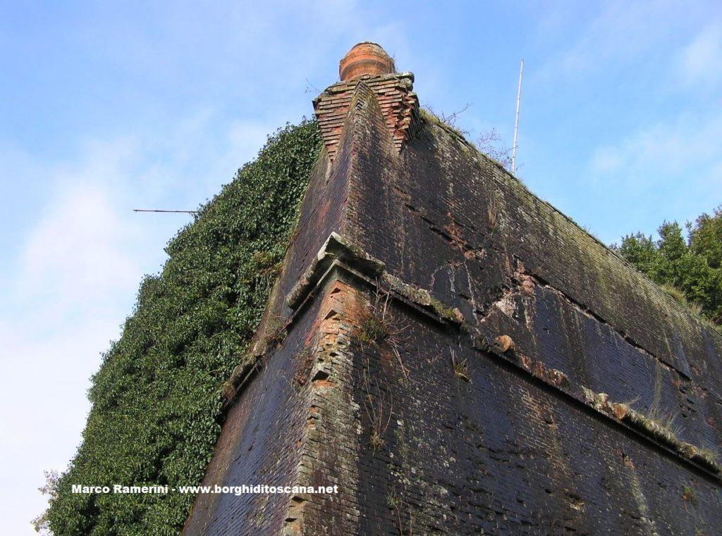 La fortezza mediecea di San Piero a Sieve. Autore e Copyright Marco Ramerini