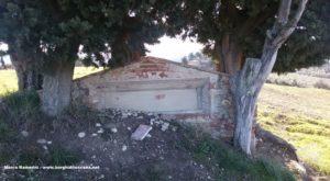 La struttura nel Lazzaretto a San Filippo. Autore e Copyright Marco Ramerini.