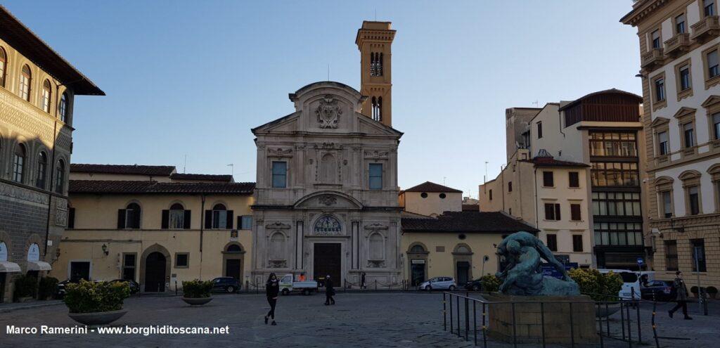 La chiesa di Ognissanti a Firenze. La parrocchia dov'è nato il babbo di Jacopo, Zanobi Ramerini