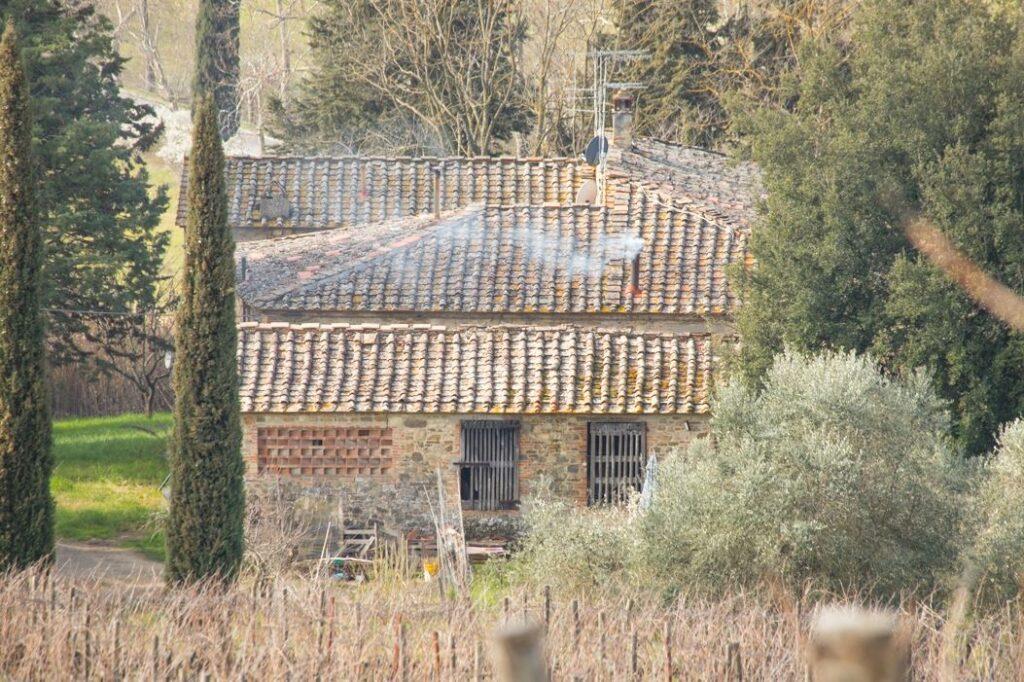 I tetti del Poderaccio (Foto: Marco Ramerini)