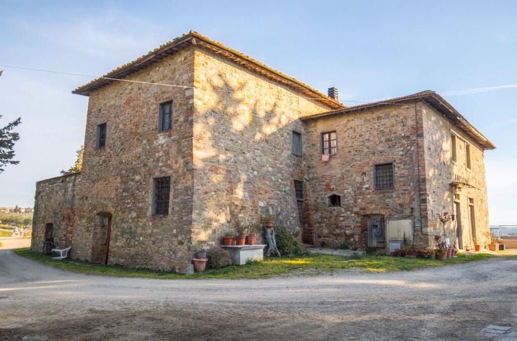 Il Podere della Porta, oggi Portaccia, San Filippo a Ponzano (Foto: Marco Ramerini)