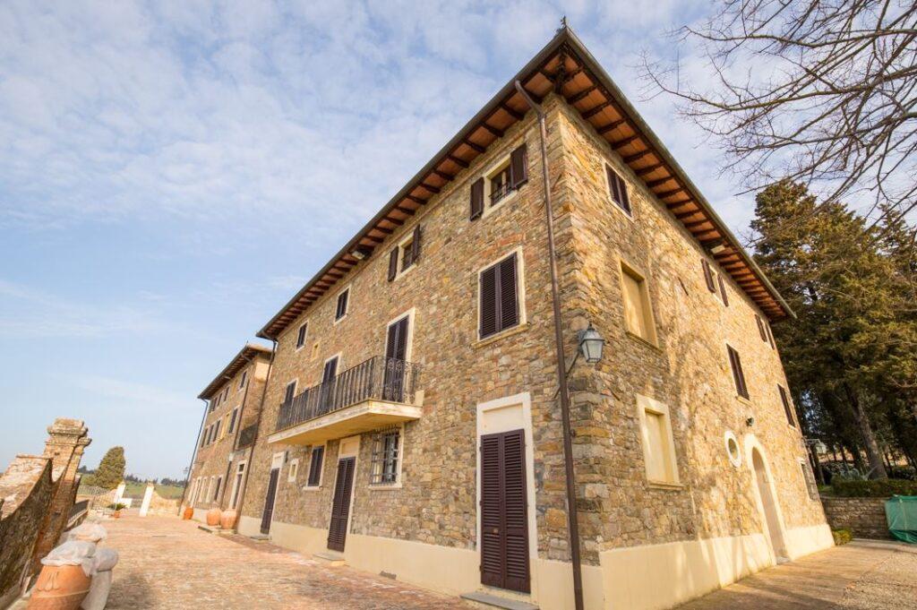 La facciata della Villa di San Filippo (Foto: Marco Ramerini)