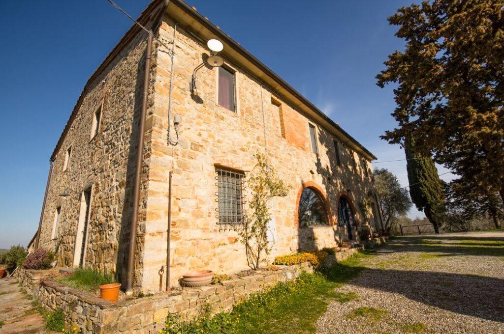 Uno dei due edifici del Podere Primo di Ponzano, San Filippo a Ponzano (Foto: Marco Ramerini)