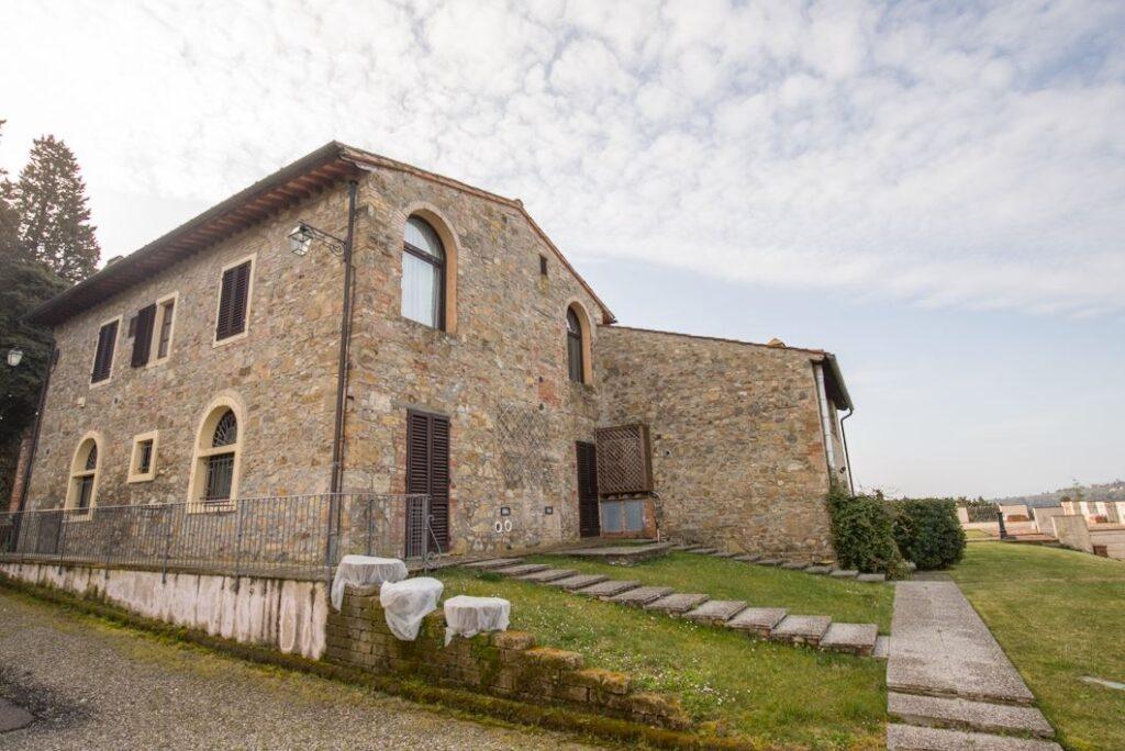 Un annesso della Villa di San Filippo (Foto: Marco Ramerini).