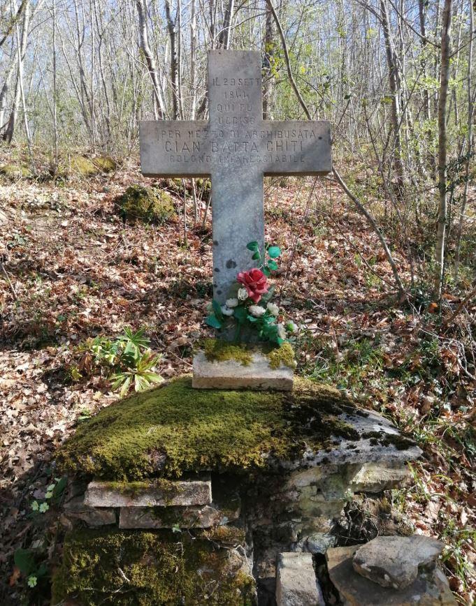 La tomba del Chito. Foto di Marcello Marcucci.