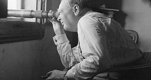 Wiston Churchill vicino a Firenze nel 1944