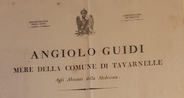 Documento del periodo napoleonico