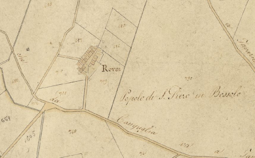 I Rovai attorno al 1820. Progetto C A S T O R E – Regione Toscana e Archivi di Stato toscani.