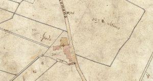 """La """"Spada"""" dove abitavano i Salvestrini. Progetto C A S T O R E - Regione Toscana e Archivi di Stato toscani."""